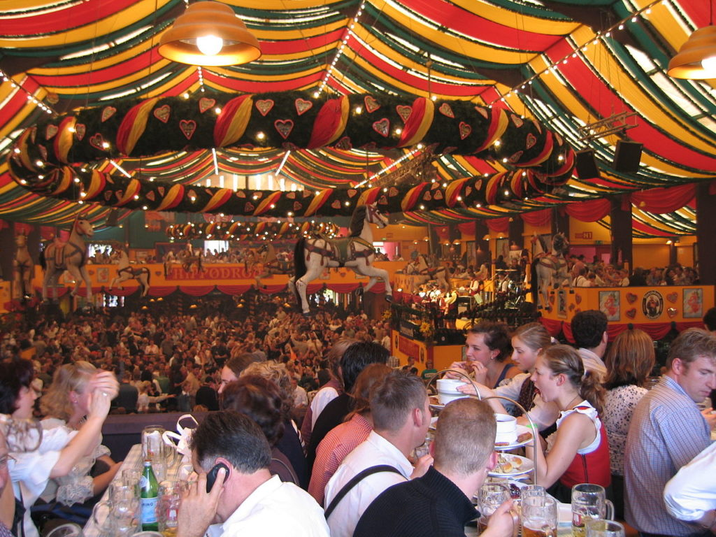 Our Oktoberfest will not look like this, but we will still have loads of fun!